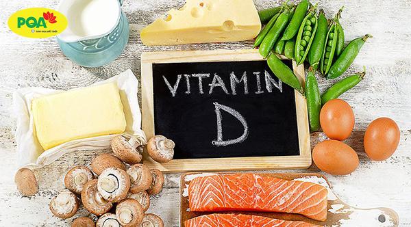 Hen suyễn nên ăn các loại thực phẩm chứa vitamin D