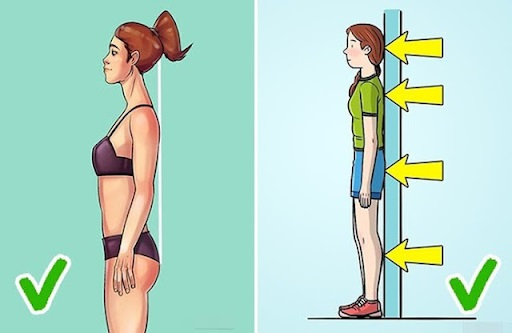 Bị hen suyễn khó thở nên làm gì - đứng thẳng dựa lưng vào tường